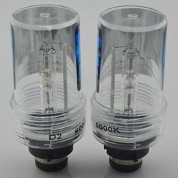 Wholesale 55w Xenon Hid Conversion Kit - 2PCS 55W D2S Xenon HID Bulb 6000K car Headlight Lamp Replaced 12v Anto light