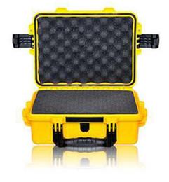 Оборудование черного ящика онлайн-водоустойчивый случай 2100 оборудования уплотнения безопасности резцовая коробка черный желтый зеленый цвет водоустойчивое оборудование уплотнения безопасности с подкладкой пены пре-отрезка