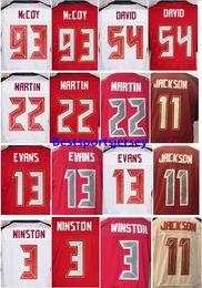 Wholesale Desean Jackson - Men's Stitched 3 Jameis Winston 11 DeSean Jackson 13 Mike Evans 28 Vernon Hargreaves 93 Gerald McCoy 54 Lavonte David Elite Jerseys