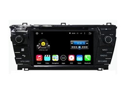 Wholesale Dvd Tv Car Corolla - 7'' Quad Core Android 5.1.1 Car DVD Stereo For Toyota Corolla 2014 With Radio GPS Map Video Multimedia Audio Wifi BT