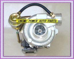 turbo-turbolader-kompressor Rabatt Turboladerkompressor TURBO GT2860 GT28: A / R .42 Turbine: A / R .64 T25 Wasser Ölgekühlter 5-Schrauben-Lufteinlass: 2,5