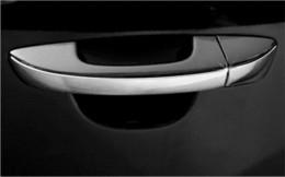 Wholesale Vw Golf Door Handle - Stainless steel trim DOOR HANDLE COVER For Volkswagen vw Golf 6 MK6 Passat B7 4pcs per set