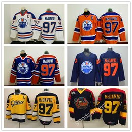73690868f 2017 New Men Edmonton Oilers high quality NHL Hockey Jerseys Ice 97 Connor  McDavid Jerseys Mix Order from dropshipping suppliers