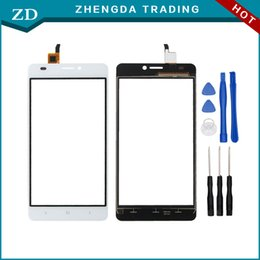 Wholesale Cell Phones Parts Wholesale - Wholesale- 100% Original Touch Screen for Oukitel C3 Touch Panel Perfect Repair Parts for Oukitel C3 Cell Phone Free Shipping +Tools
