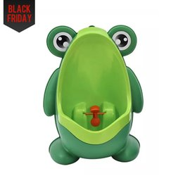 Wholesale Boy Types - Frog Children Potty Toilet Training Kids Urinal For Boys Pee Trainer Portable Wall-hung Type