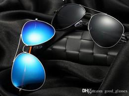 347996f4e4 58mm frames Promo Codes - 2018 New Polarized Pilot Sunglasses Designer Men  Women 58mm UV400 Brand