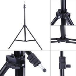 Wholesale Universal Head For Tripod - Wholesale- Universal 1 4 Head Studio Light Flash Speedlight Umbrella Stand Holder Bracket Tripod For studio lights flash umbrella reflector
