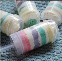 Wholesale Cupcake Push Pops Containers Wholesale - Food grade Push Up Pop Containers push Cake Pop cake container for Party Decorations Round shape