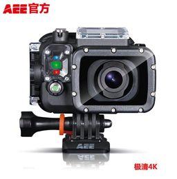 Wholesale Digital Cameras 12x Zoom - AEE S71 HD 4K 2.7K 1080P Portable Sports Camera 100m Waterproof 12X Digital Zoom w  32G TF Card