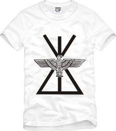 2016 volte Il colore bianco del cotone 100% della maglietta di stampa dell  aquila del London del ragazzo del maglione del ragazzo delle magliette del  ... 12b866a271c
