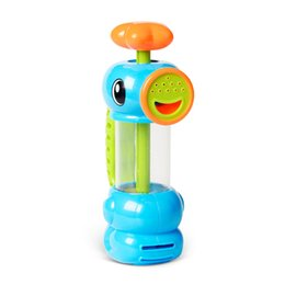 Wholesale Toys Ana - ANA Hotel Baby Bath Accessories Eco-friendly Plastic Toy Water Hippocampus Sprinkler Kids Pumping Toys Best Fit Me Child Christmas Gift