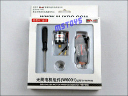 Wholesale Rc Helicopter F46 - Brushless main motor W6001 for mjx F46&F646 RC Helicopter spare part Accessory brushless motor rc airplane