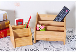 Wholesale Small Medicine Storage - Small Size Large Size Wooden Home Products Desktop Storage Organizer Sundries Medicine Keys Remote Controller Box Case Pot Vase Container