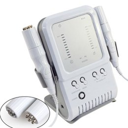 Wholesale Meso Lift - 2 in1 RF Radio Frequency Facial Machine No-Needle Meso Massager Skin Firming Wrinkle Removal Home use Beauty Device