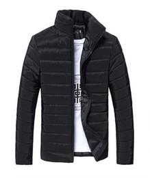 Wholesale Long Red Overcoat Down - men jackets coats warm coat Mens Coat Brand Sport Jacket Winter Down Parkas Man's Overcoat Size M-3XL 9 colors new fashion Winter.