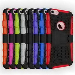 Wholesale S3 Hard Case Dual Layer - For Samsung S3 Case Cable HEAVY DUTY Tough Dual Layer 2in1 Rugged Rubber Hybrid Hard Impact Resistant Protective Cover With Kickstand
