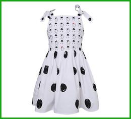 Wholesale Vest Turtleneck - Japan style sleeveless white black milk fashion girls dresses overalls vest princess charactor print sundress new arrival free shipping