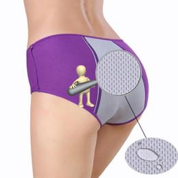 Wholesale Wholesale Cotton Bikini Panties - Wholesale-2016 Sexy Physiological Briefs Leakproof Menstrual Period Lengthen The Broadened Female Underwear Health Seamless Women Panties