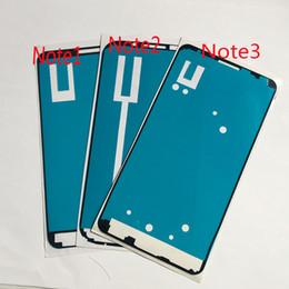 2019 pre lcd screen Pre-Cut 3 м клей для Samsung Galaxy Note N7000 Note2 Note3 ЖК-экран с сенсорным экраном передняя Рамка Рамка 3 м клей двухсторонняя клейкая лента стикер