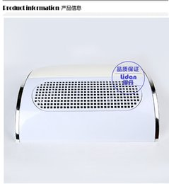 Wholesale Fan Nails - Wholesale-407-Free shipping 100-240V with 3 fans Nail Dust Suction Collector