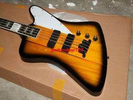 Wholesale Honey Burst Guitar - new Chinese Bass guitar 4 Strings Electric Bass Honey Burst Bass Guitar