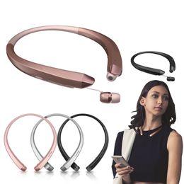 Wholesale Headphone S - HB-S-910 CSR 4.0Tone Infinim Wireless Bluetooth Headset Headphone earphone sports wireless bluetooth headset for iphone7 7plus