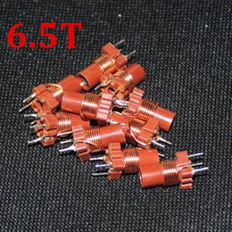Wholesale Inductor Ferrite - 10pcs Adjustable Inductance Variable 6.5Turn High-frequency Ferrite Core Inductor 6.5T 0.2-0.6uH New Branded 200-600nh Inductors