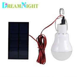 Wholesale Used Solar Panel System - Wholesale-Outdoor Indoor Solar Powered led Lighting System Light Lamp 1 Bulb solar panel Low-power camp nightfair travel used 5-6hours