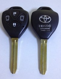 Wholesale Toyota Case Key Buttons - KL72 for replacement of 4 BUTTONS KEY CASE for TOYOTA ISIS NOAH ESTIMA VOXY (2 Electric Sliding Door)