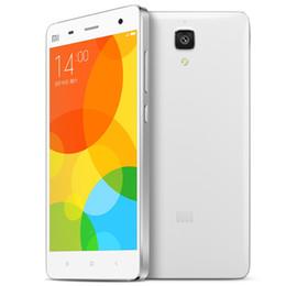 Wholesale M4 Player - Original Xiaomi M4 Mi4 Mi 4 2G 16G ROM FDD LTE SmartPhone Snapdragon 801 Quad Core 5'' 1080P FHD 13.0MP 1920x1080P MIUI 7