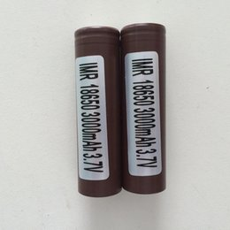 Wholesale Wholesale Batteries China - 100% High Quality HG2 18650 Battery 3000mAh 35A MAX Rechargable Lithium Batteries For Cells VS HE2 HE4 Batteries From china