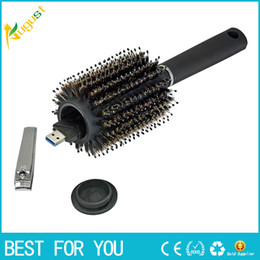 Wholesale Homes Safes - Hair Brush Black Stash Safe Diversion Secret Security Hairbrush Hidden Valuables Hollow Container for Home Security Secret storage boxs