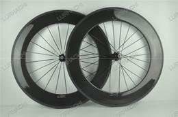 Wholesale Carbon Fiber Weave - High Quality 88mm wheel T800 carbon fiber road bike wheel,Hub:Novatec powerway Surface Weave:3K  UD Available