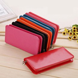 Wholesale Iphone Blue Coin Case - Pink Blue Multifunction Women Wallets Coin Case Purse For Iphone 4 Galaxy case Iphone 5 Man Leather Wallet for Men Wholesale