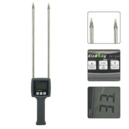 Wholesale Paddy Rice - Wholesale-Portable Grain Moisture Meter Wheat Corn Beans Rice Oats Paddy tester DX-103G