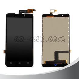 envio gratuito de zte Desconto Atacado-para zte v5 n9180 v9180 u9180 n918st v5s display lcd + touch screen digitador assembléia painel preto frete grátis