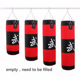 Wholesale kick boxing bags - Wholesale-Kick Boxing Punching Sand Bag Sandbag sac de frappe boxe boxeo boks torbas fustelle pesas para tobillos bokszakken Wing Chun Bag