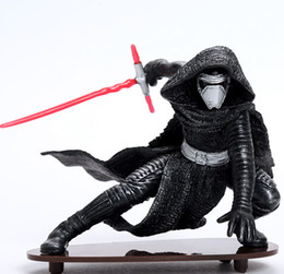 Wholesale Black Star Action Figures - 20141544 2016 Star Wars Series The Force Awakens Kylo Ren hand model PVC action figure manufacturers selling bags