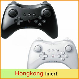 Wholesale White Ps4 - Classic Dual Analog Bluetooth Wireless Remote Controller USB U Pro Game Gaming Gamepad for for Nintendo Wii White Black Wholsale