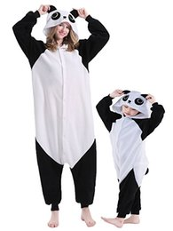 Wholesale Kung Fu Panda Outfit - Hot Sale Warm Christmas Party Parent-Child Outfit Unisex Onesies Kung Fu Panda Pajamas Sleepwear Pyjamas(All Ages Costume)