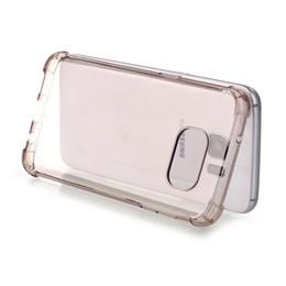 Klare silikon handy fällen online-Stoßfestes weiches TPU Fall für Samsung-Galaxie S7 RAND-G930 G9300 Klares transparentes Silikon-Gel-Gummifell-Abdeckungs-Celular-Handy Luxus