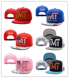 Wholesale hat boxes wholesale - top Sale 2016 Europe and America Boxing champion Summer Baseball Caps for Women Men Street Snapback Caps Leisure Cheap Sport Hat Fashion