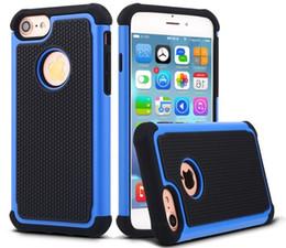 m9 iphone Sconti Custodia ibrida per iphone 7 6s s7 s6 edge note7 LG G3 G4 HTC M9 touch 5 plus silicone morbido + PC + TPU Custodia protettiva caso di protezione custodia GSZ101