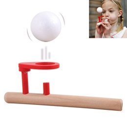 Wholesale Foam Sports Balls - Cheap Floating Ball Game Baby Toys Schylling Wooden Floating Ball Game Wooden Toys Version Birthday Gift For Child Educational Balloon