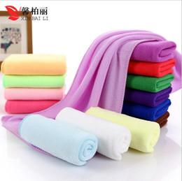 Wholesale Hair Wash Water - Manufacturers selling microfiber towel 30 * 70 nanometer absorbing water wash the car haircut towel dry hair towel