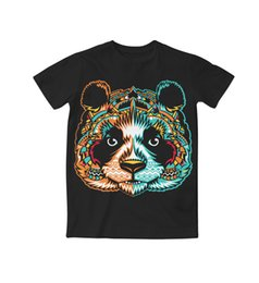 Wholesale Shirt Tribal - Real American USA Size Tribal Panda. 3D Sublimation print T-Shirt Plus size