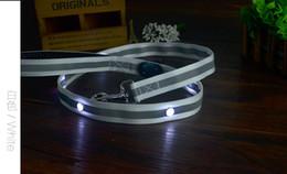 Wholesale Wholesale Stone Dog Collar - New item nylon imitation stones led dog leash make pet safety and cool at night