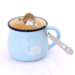 Wholesale Smile Face Curved Tea - 1X Novelty Stainless Steel Smile Face Curved Tea Coffee Drink Condiment Spoon #R12