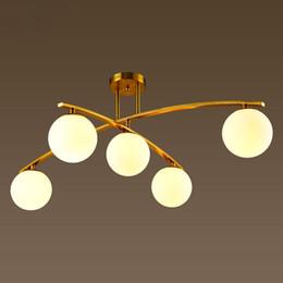 Decke Mode Glas Lampen Rabatt Postmoderne Minimalistische Deckenleuchte  Wohnzimmer Schlafzimmer Mode Atmosphäre Glaskugel Persönlichkeit Design ...