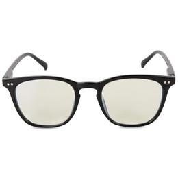 Anti Blue Blue Block Light Computer Glasses Protege la vista para la salud visual Negro desde fabricantes
